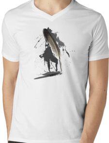 Writer's Block Mens V-Neck T-Shirt