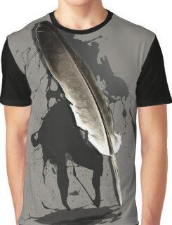 Writer's Block Graphic T-Shirt