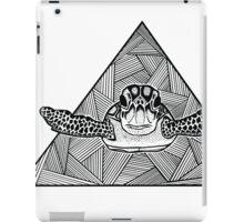 Geometric Turtle iPad Case/Skin