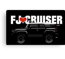 I LOVE FJ Canvas Print