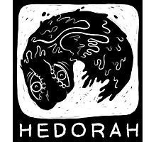 Woodcut Hedorah Photographic Print