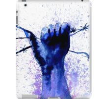 Hand with Barbed Wire 2 iPad Case/Skin