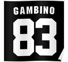 Gambino 83 Poster
