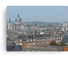 Overlooking Namur, Belgium Canvas Print