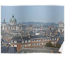 Overlooking Namur, Belgium Poster