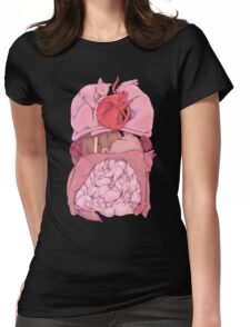 Sleeping Entrails Womens Fitted T-Shirt