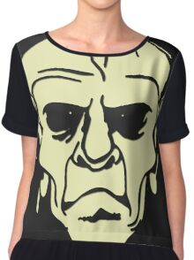 Skulls T-Shirts / Zombieland 3 Death Head Chiffon Top