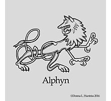 A is for Alphyn Photographic Print