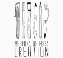 Weapons Of Mass Creation One Piece - Short Sleeve