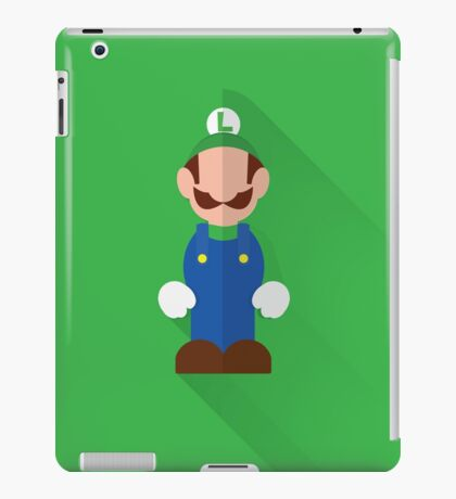 luigi bro iPad Case/Skin