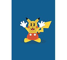 Pika Mouse Photographic Print