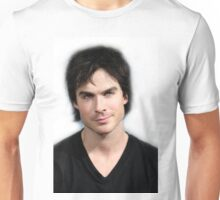 Handsome Damon Salvatore Ian Somerhalder 2 Unisex T-Shirt