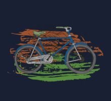 Bike - Bicycles - Rideable Art Kids Tee