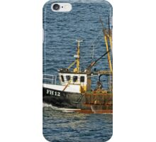 Fishing Boat FH12 off Pendennis Point iPhone Case/Skin