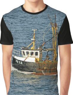 Fishing Boat FH12 off Pendennis Point Graphic T-Shirt