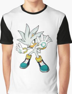 Sonic The Hedgehog Futuristic     Graphic T-Shirt