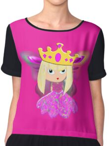 And Where is my Knight in Shining Armour Then! Chiffon Top