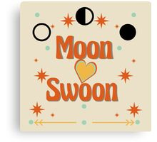 Moon Swoon Canvas Print