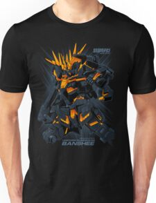 Gundam Unicorn Banshee Unisex T-Shirt