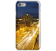 Davey Street Hobart - Night iPhone Case/Skin