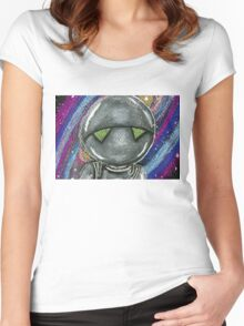 Marvin the Paranoid Android  Women's Fitted Scoop T-Shirt