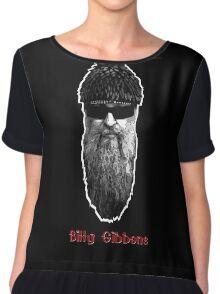 Billy Gibbons 2 Chiffon Top