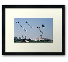 .....Up to the highest height Framed Print