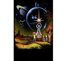 Rick and Morty Adventure Photographic Print