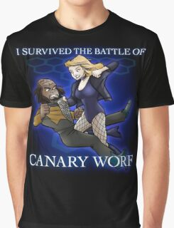 The Battle of Canary Worf Graphic T-Shirt