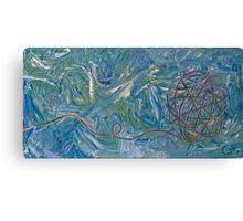 Sailing Yarn Canvas Print