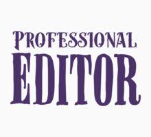 Professional editor Baby Tee