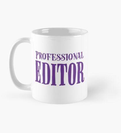 Professional editor Mug
