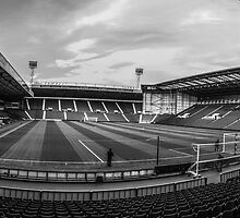West Bromwich Albion F.C Panorama Black & White by Blitzer