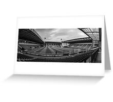 West Bromwich Albion F.C Panorama Black & White Greeting Card