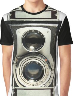 Retro Camera Graphic T-Shirt