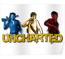 Uncharted Line Poster