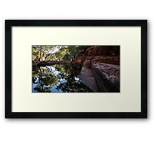 Kings Canyon Reflections Framed Print