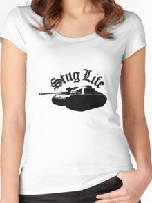 The StuG life Women's Fitted Scoop T-Shirt