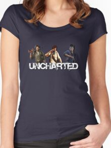 Uncharted Line Women's Fitted Scoop T-Shirt