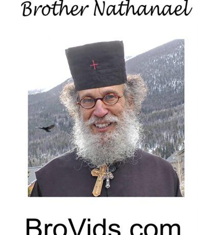 Brother Natanael  BroVids.com Sticker