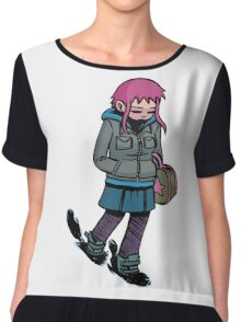 Ramona Flowers Chiffon Top