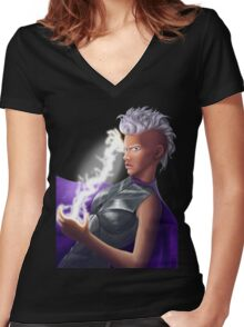 Storm - Apocalypse Women's Fitted V-Neck T-Shirt