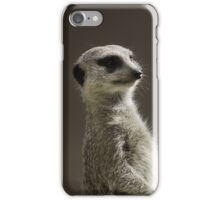 Meerkat on Guard iPhone Case/Skin