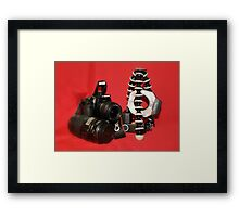 Camera Set-up - Canon EOS 350D Framed Print