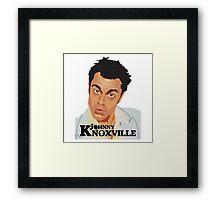 Johnny Knoxville Framed Print