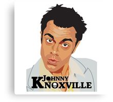 Johnny Knoxville Canvas Print