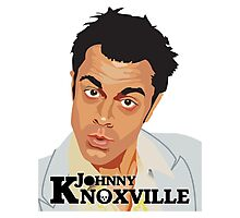 Johnny Knoxville Photographic Print