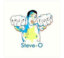 Steve-O Art Print