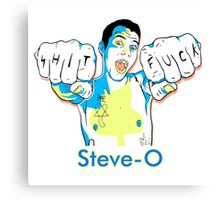 Steve-O Canvas Print