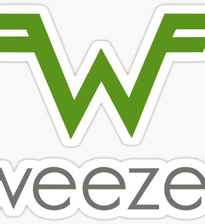 The Weezer Sticker